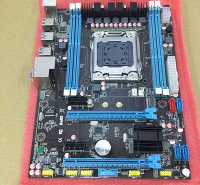 X79 motherboard LGA2011 DDR3 64G ATX USB3 0 SATA3 PCI E SSD