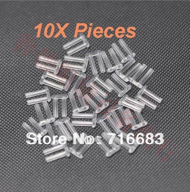 10X шт. прочный жесткий двойной пластиковый стопор штук гвозди для оправы очков очки линзы фиксирующее устройство