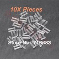 10X pieces Durable Hard Dual Plastic Stopper Pieces Nails For Rimless Eyeglass Frames Glasses Lens Fixing Device