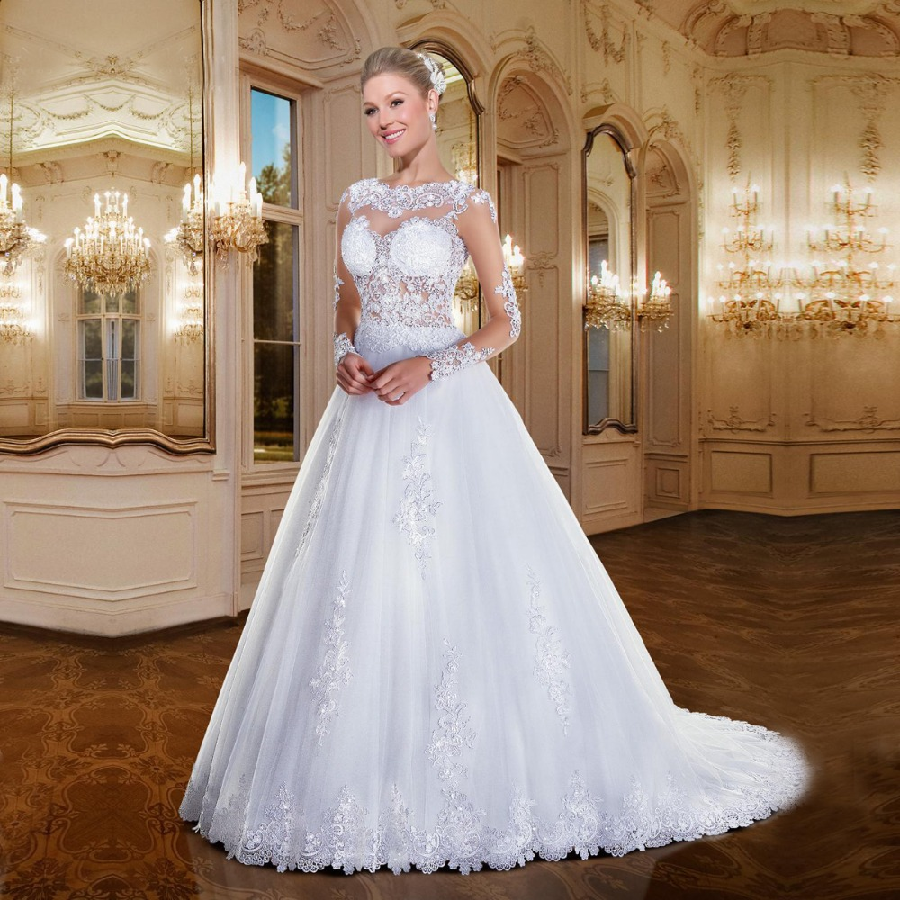 Lace wedding dresses brazilian