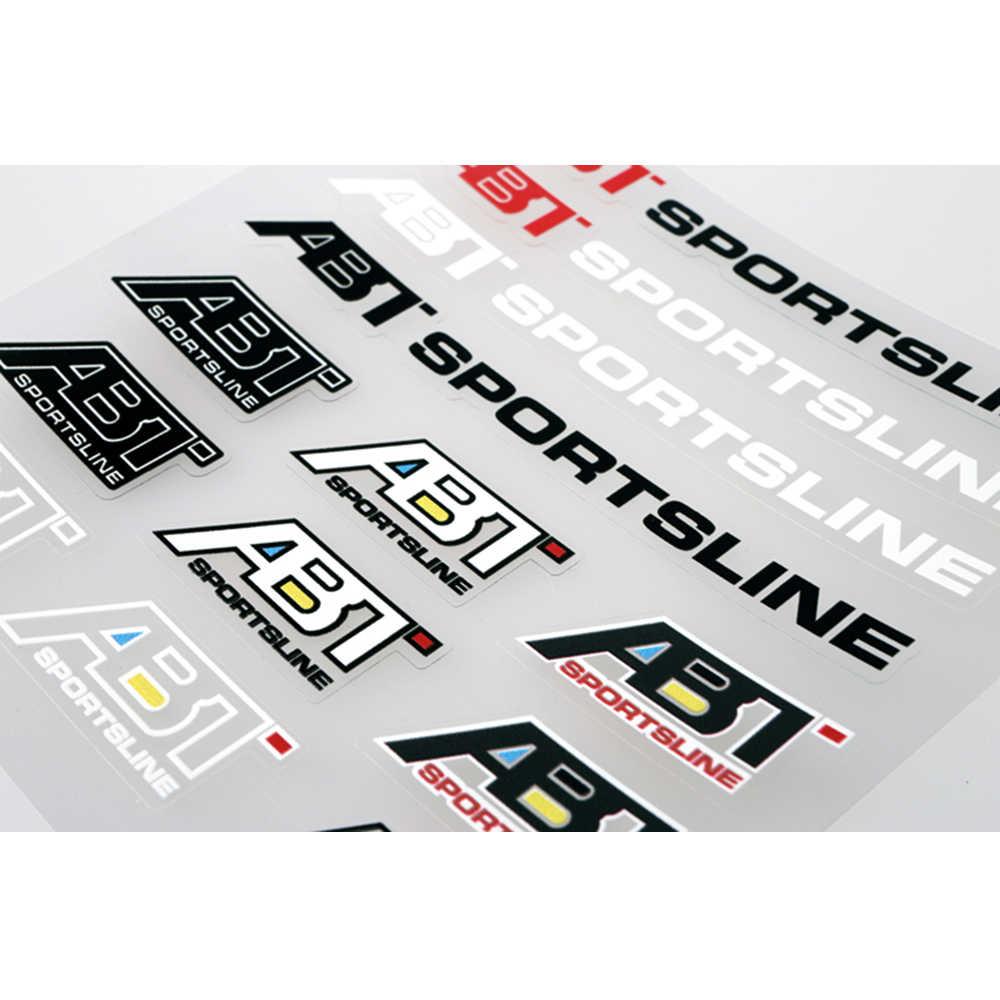 Aliauto車スタイリングabtスポーツラインアクセサリーステッカーとデカール用フォルクスワーゲンポロゴルフティグアンパサートb6 b8アウディシュコダ