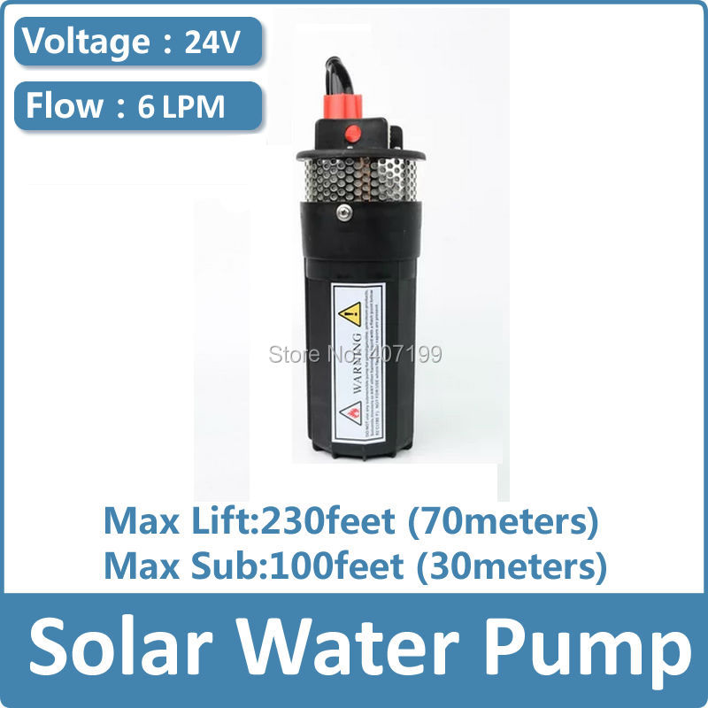 dc 12 volt / 24 volt solar powered submersible water pump windmill irrigation water pump free shipping free shipping ss316 dc submersible solar pump solar water pump 1 cbm hr 30m model 3sps1 0 30