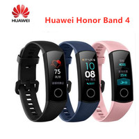 Original Huawei Honor Band 4 Smart watch Wristband Touchscree Amoled Color 0.95 Waterproof Fitness bracelet Heart Rate Monitor