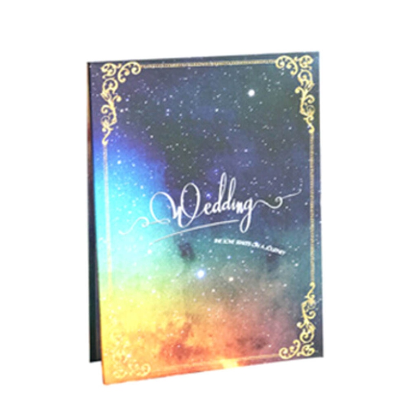 Wedding Guest Book Personalized DIY Party Decoration Accessories Marriage Memory Book Party Attendance(China)