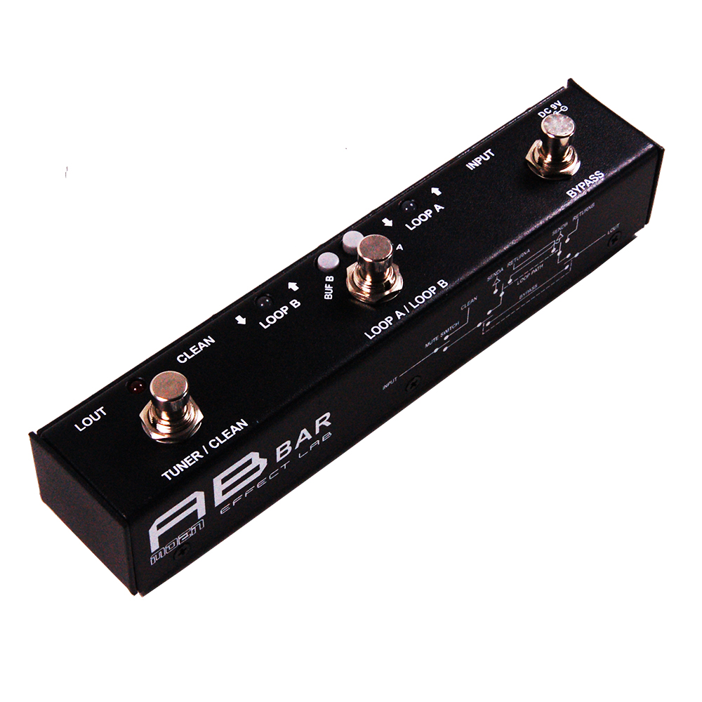 Moen AB BAR Effect Pedal switcher for Electric Guitar Effects Ture Bypass moen compressor guitar effect pedal ture