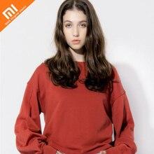 Original xiaomi mijia PPT lanternas manga moda camisola das mulheres tijolo vermelho tendência esportes camisola das Mulheres