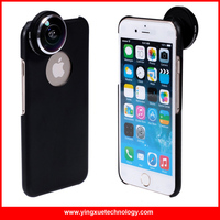 Detachable Screw In More Advanced Super Fish Eye Lens 235 Degree Lens With Back Cover Case