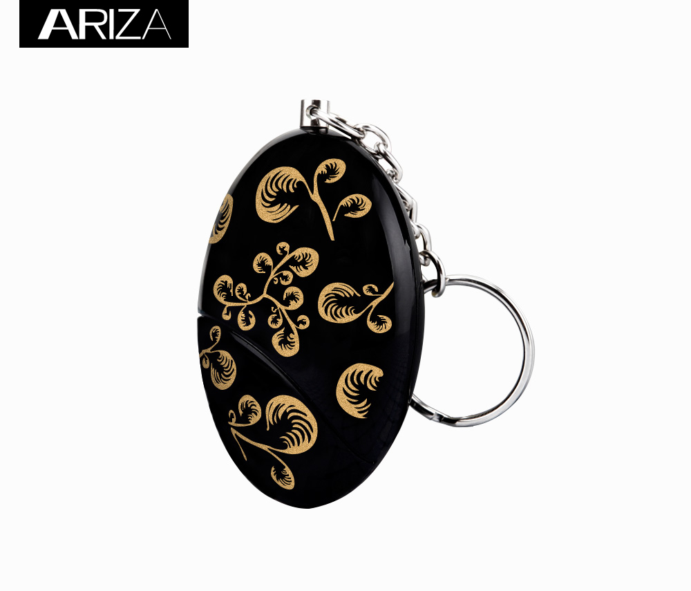 120db gold color printing self defense personal alarm with CE RoHS approved минипечь gefest пгэ 120 пгэ 120