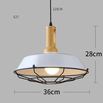Industrial Decor Nordic Industriele Pendelleuchte Lampen Modern Deco Maison Suspension Luminaire Hanging Lamp Pendant Light