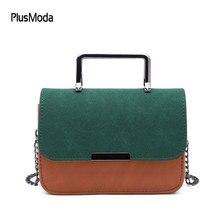 Famous Brand Women Leather Handbags Women Green Messenger Bags Flap Sling Girls Shoulder Crossbody Bags Bolsa