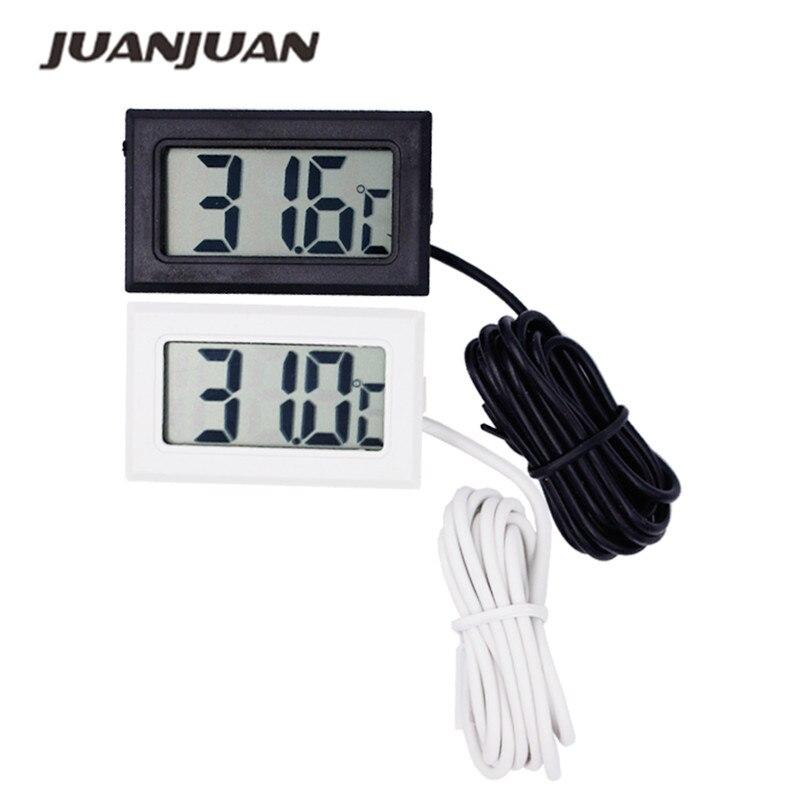 3db / tétel Új mini digitális LCD hőmérő - Mérőműszerek - Fénykép 1