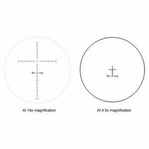 Image 5 - ناقلات البصريات الجدي 4.5 14x44 مللي متر FFP Riflescope الانظار 1/10 ميل MP شبكاني سلاح طويل العين الإغاثة بندقية النطاق البصري