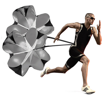 Strength Training Physical Umbrella Football Resistance Parachute Strength Training Running Explosive Force Speed Umbrella fitness resistance bungee band with adjustable belt speed training tool for running training strength basketball and football