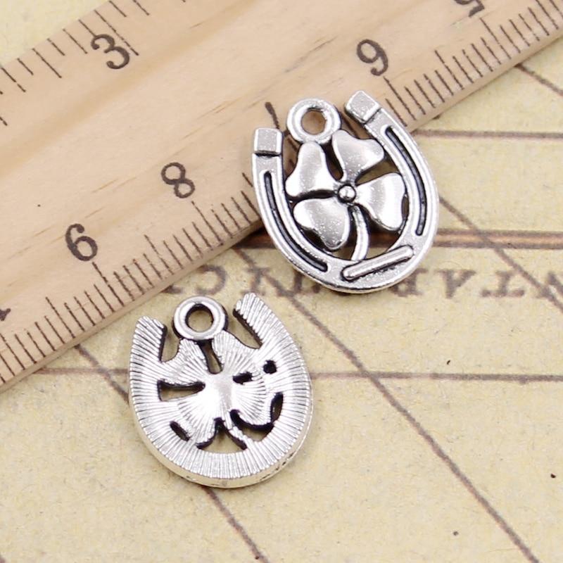 Dog Charm//Pendant Tibetan Antique Silver 23mm  5 Charms Accessory DIY Jewellery