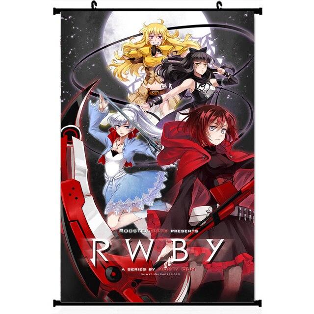 Аниме плакат Гобелен шелковый RWBY в ассортименте