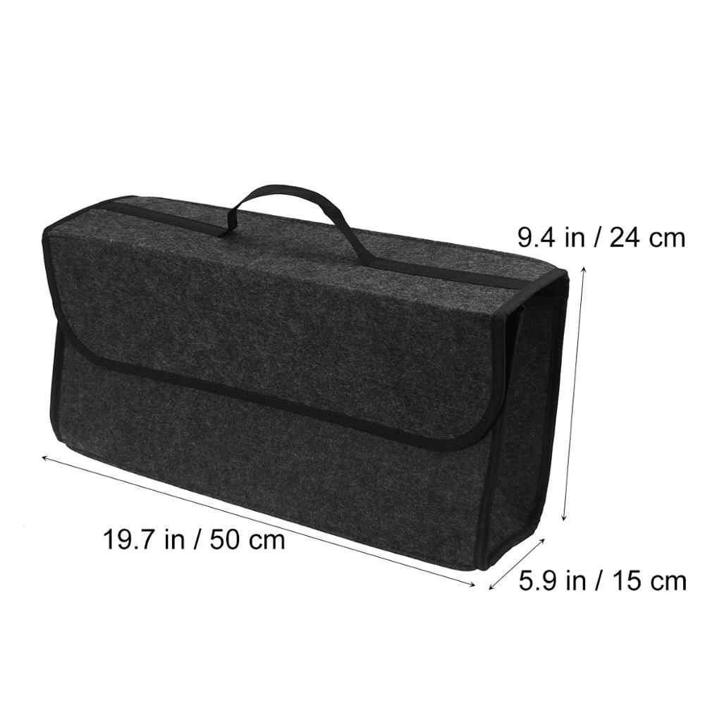 OUNONA автомобильный мягкий ящик для хранения багажник сумка дорожный органайзер для хранения держатель автомобильные аксессуары