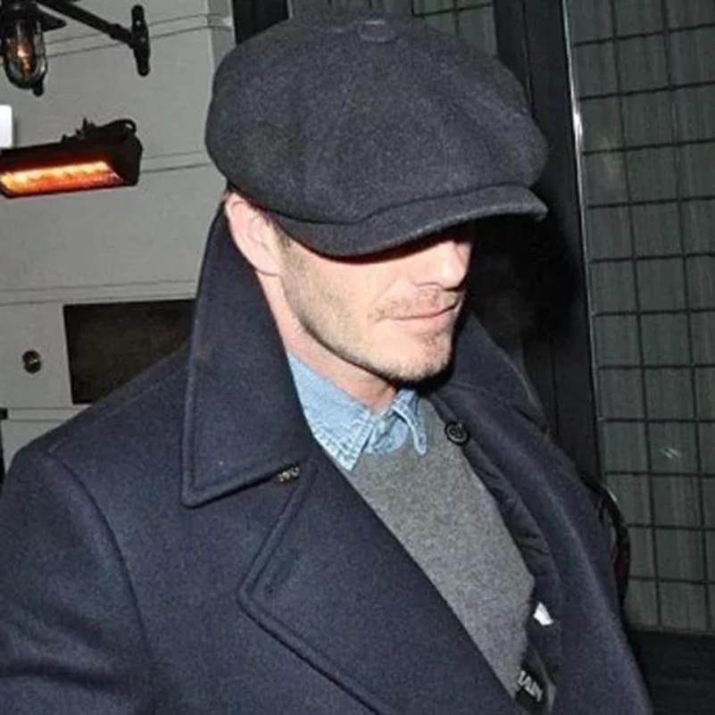 British Style Men Newsboy Caps Octagonal Hats Winter Wool Hat Gatsby Cap Ivy Hat Golf Driving Autumn Cabbie Male Boina Berets