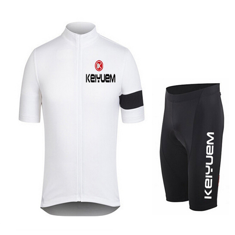 KEIYUEM K Men Women 39 s Short Sleeve Cycling Jersey Sets Bike Ciclismo Bicycle Bicicleta Maillot Mtb Clothing Sets Racing Clothes in Cycling Sets from Sports amp Entertainment