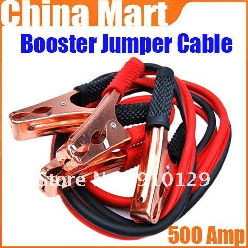 4GA 500A 16 FOOT Battery Charging Line Car Emergency Booster Jumper Cable Set