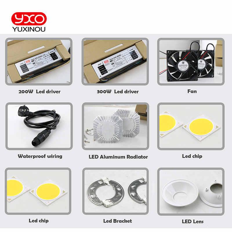 New Arrival Cree Cxb3590 Diy Led Grow Lamp Kit 200w 300w Cob Dimmable Led Grow Light Full Spectrum Warm White 3000k 3500k 5000k Aliexpress