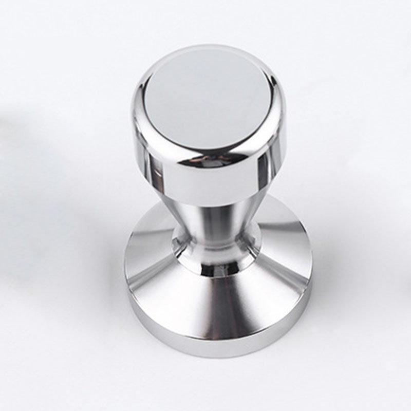 1Piece Stainless Steel 51mm Silver Color Coffee Tamper Maker Grinder Handmade Kitchen Practical Tool