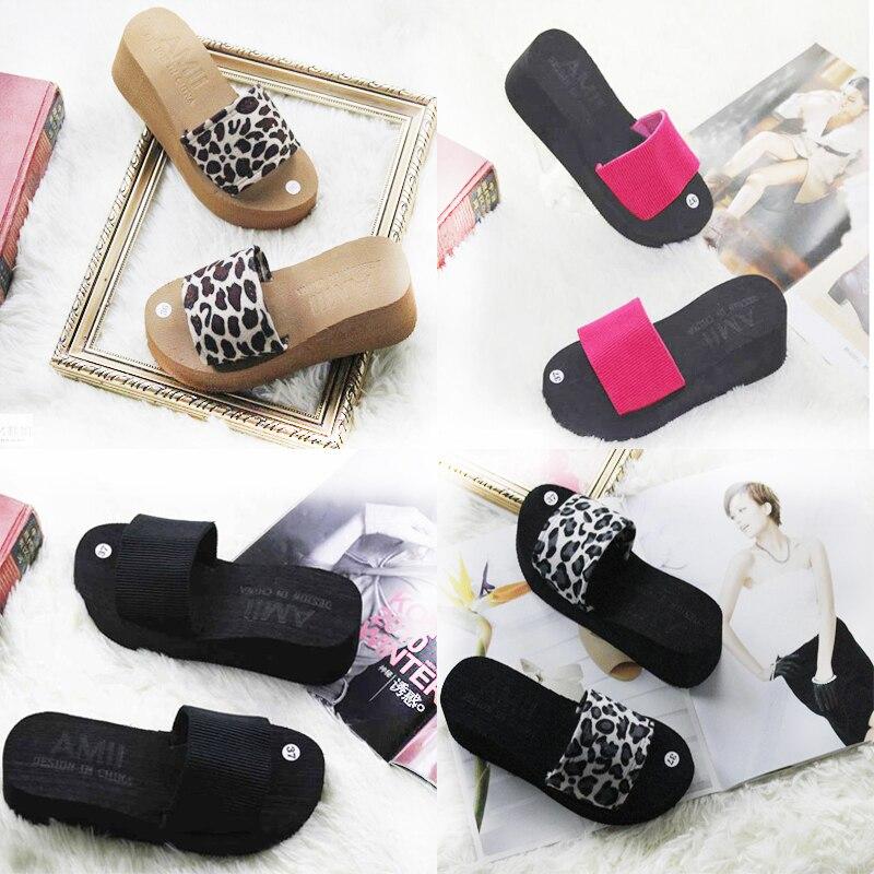 Flip Flops Women Sandals 2015 New Women Summer Shoes Woman Platform Sandals Wedge Ladies High Heel