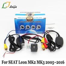 Laijie Wireless Car Rear View Camera For SEAT Leon 1P 5F MK2 MK3 2005~2016 / HD Wide Lens Angle Reverse Parking Camera NTSC PAL