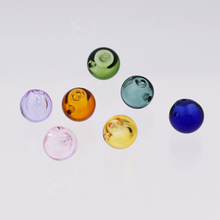 28pieces 8mm ball Diffuser Perfume Refillable handmade Essential Oil Aromatherapy glass Bottle jewelry pendant