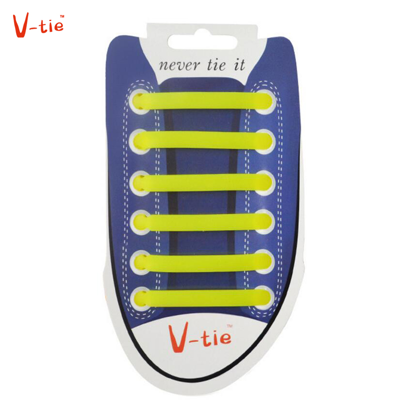 Suit 1-50 Sets Luminous Yellow Creative Flexible Arrow-shaped Unisex Shoelaces Elastic Shoe Lace Creative Silicone Children Lace