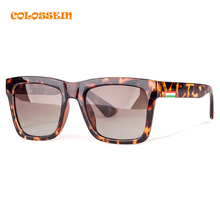 COLOSSEIN BLUE LABEL Summer Fashion Sunglasses Women Vintage Polarized Lens Eyewear Hot Sale High Quality Street Style Glasses