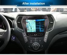 Newest Android 5 1 1 For Hyundai IX45 Santafe 2013 2014 2015 Car DVD Player Radio