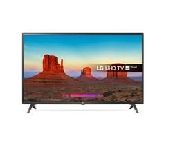 """LG 43UK6300PLB, 109.2 cm (43""""), 3840 x 2160 pixels, LED, Smart TV, Wi-Fi, Black"""