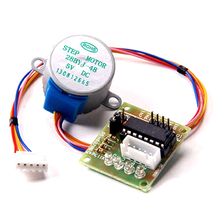купить 5V Stepper Motor 28BYJ-48 + ULN2003 Driver Test Module for Arduino в интернет-магазине