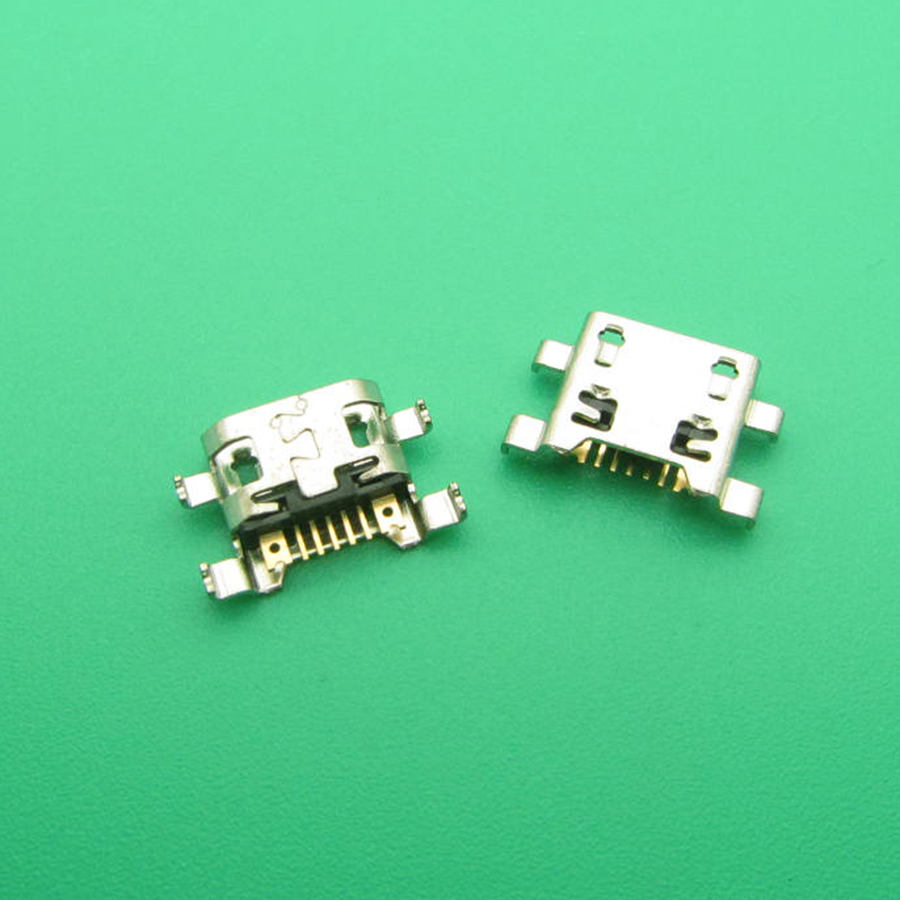 100pcs Micro Mini USB For LG Series III 3 L80 D380 D385 7-pin Charger Charging Connector Plug Dock Port Jack Socket 7 Pin