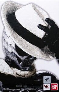 Image 5 - PrettyAngel Подлинная Bandai Tamashii нациями S. H. Figuarts Kamen Rider W & десять лет фильма войны 2010 Kamen Rider череп фигурку