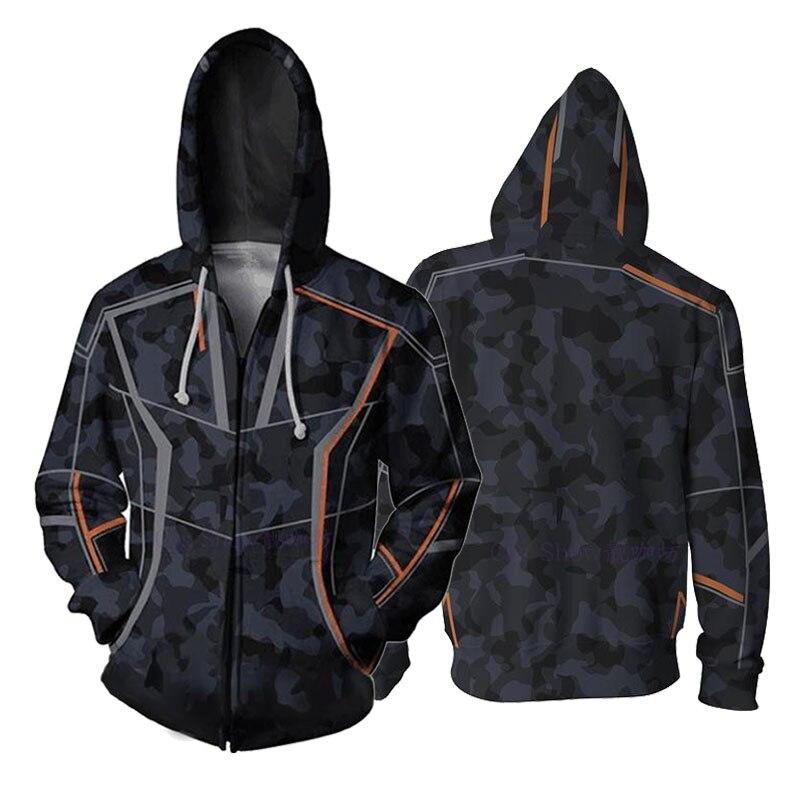 Мстители Железный человек Тони Старк 3D печати толстовки унисекс уличная одежда на молнии с капюшоном Повседневное свитшоты на молнии Для ж...