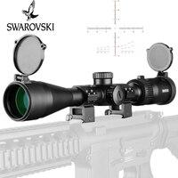 SWAROVSKl 3 12X40 ИК прицел F191 красной подсветкой Стекло гравированный сетка башенки сброса полный Размеры прицелы