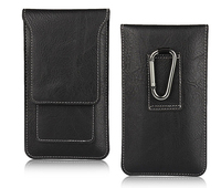 Vertical Belt Clip Leather Mobile Phone Case Pouch For Huawei Mate 10 Porsche Design For Xiaomi