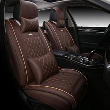 Haute qualité En Cuir spécial housse de Siège de Voiture Pour Renault Koleos megane Scenic Nuolaguna latitude de voiture accessoires de voiture-style