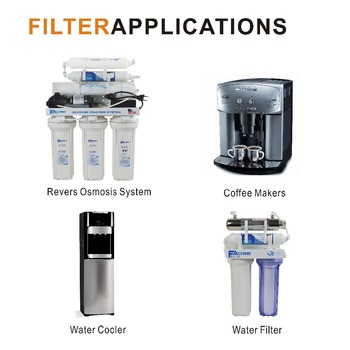 Refrigerators/Water Cooler Replacement Water Filters T33 Inline Sediment Filter ,1/4
