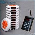 1 set wireless communication queue management solutions electronic wireless restaurant smart table service calling push buzzer