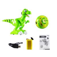 New Mini Multi function Sound And Light Music Dancing Smart Remote Control Electric Spray Dinosaur Toy Puzzle Electronic Toy