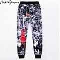 2017 Newest Fashion Emoji Jogger Men Pants 3D Design Sweatpants Trousers jordan joggers Trousers jordan clothes