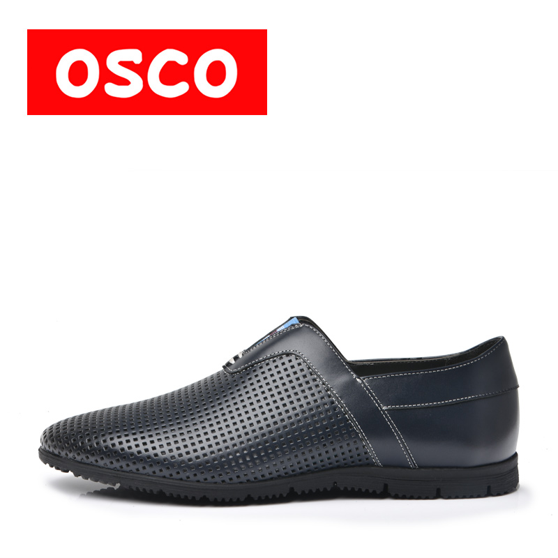 OSCO SUMMER New Men  hoes Fashion Men Casual Breathable sneaker shoes  #RU0007 the new spring and summer leather shoes breathable sneaker fashion boots men casual shoes handmade fashion