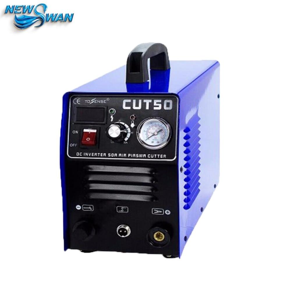 Tragbare Plasmaschneider NEUE 50AMP CUT50 Digital Inverter 110 V/220 V Maschine DSUKSL
