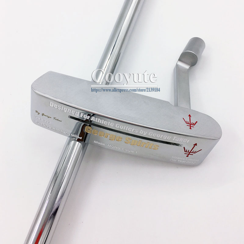 Image 5 - Cooyute NEW Putter Golf Clubs George Spirits MONO1 limited Golf Putter steel shaft Length 34. Golf shaft putter Free shipping-in Golf Clubs from Sports & Entertainment