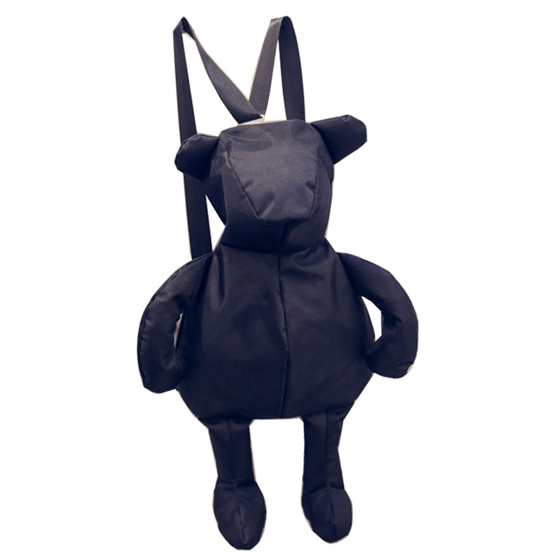 Autumn New Bear Backpack Small Bear. Will Bear. Multipurpose Both Shoulders Backpack Portable Diagonal Package Woman Package