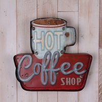 2017 Vintage Neon Sign Decorative painting LED metal signs bar Cafe Cerveja Shabby chic wall decoration signboard Advertising