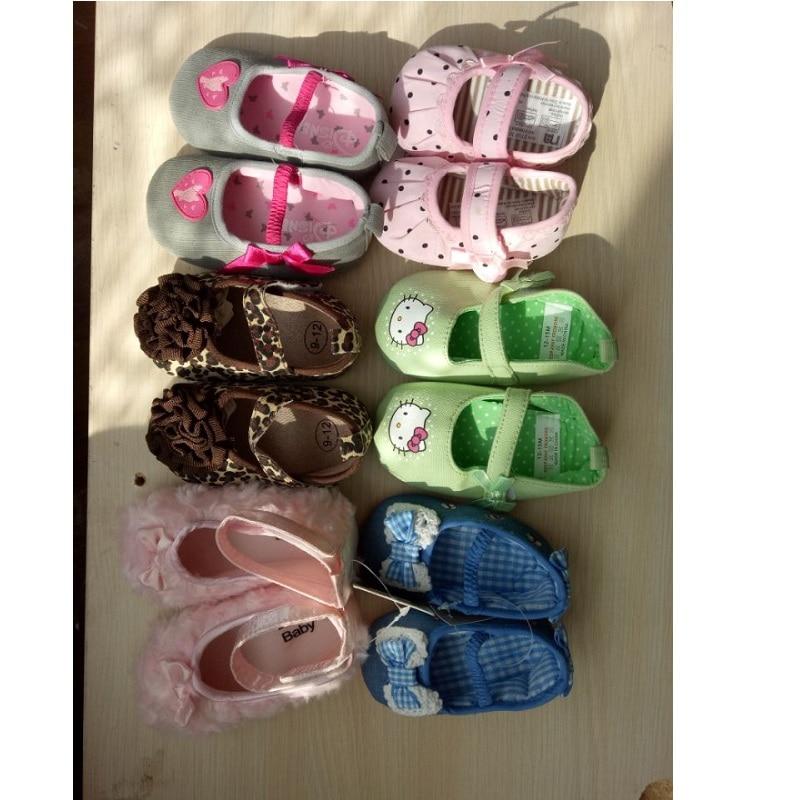 2017 Summer Leopard Newborn Shoes Soft Baby Socks Infant First Walker Baby moccasins Babies Slippers