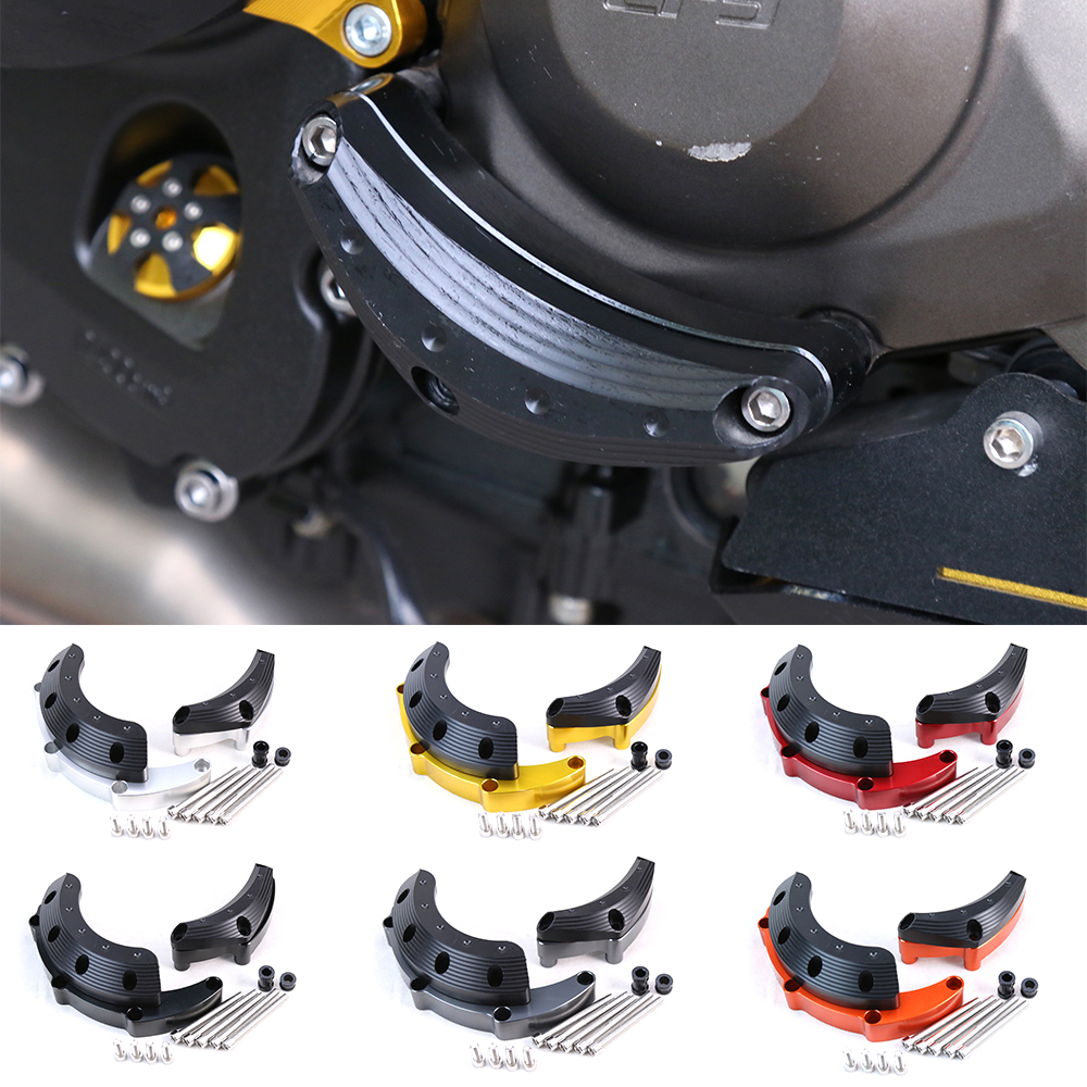 Motorcycle CNC Engine Guard Case Slider Cover Protector Set For YAMAHA MT-09 FZ-09 MT09 2017 Tracer XSR900 2014-2017 for yamaha mt 07 mt 07 fz07 mt07 2014 2015 2016 accessories coolant recovery tank shielding cover high quality cnc aluminum